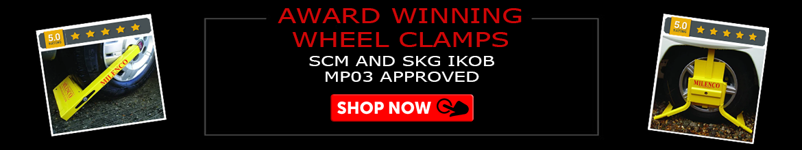 Award winning wheel clamps